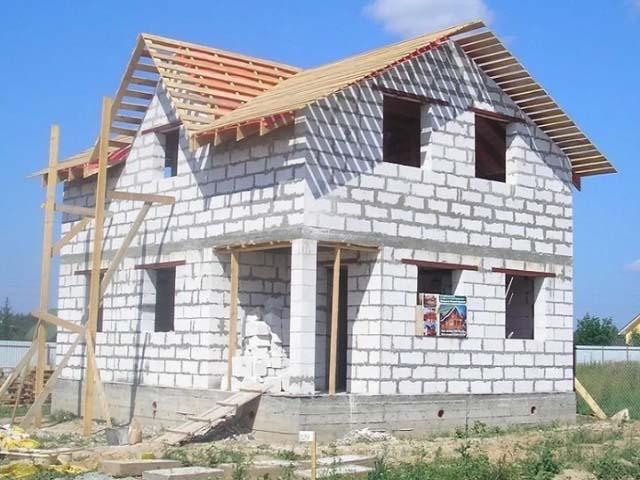 Строительство домов из газоблока Севастополь Крым