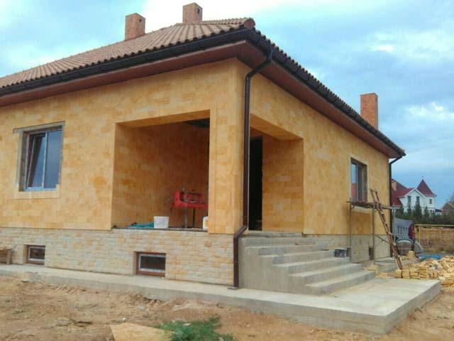 Строительство дома из ракушняка или газоблока Севастополь Крым