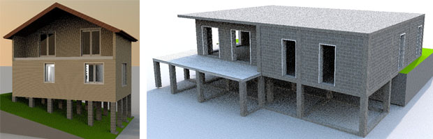 Проекты домов Севастополь Крым - строительная компания СК Новый дом
