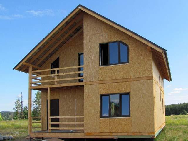 Строительство домов из СИП панелей и каркасных Крым Севастополь